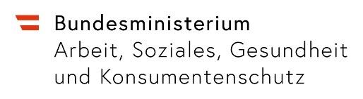 Logo Bundesministeriums für Arbeit, Soziales, Gesundheit und Konsumentenschutz